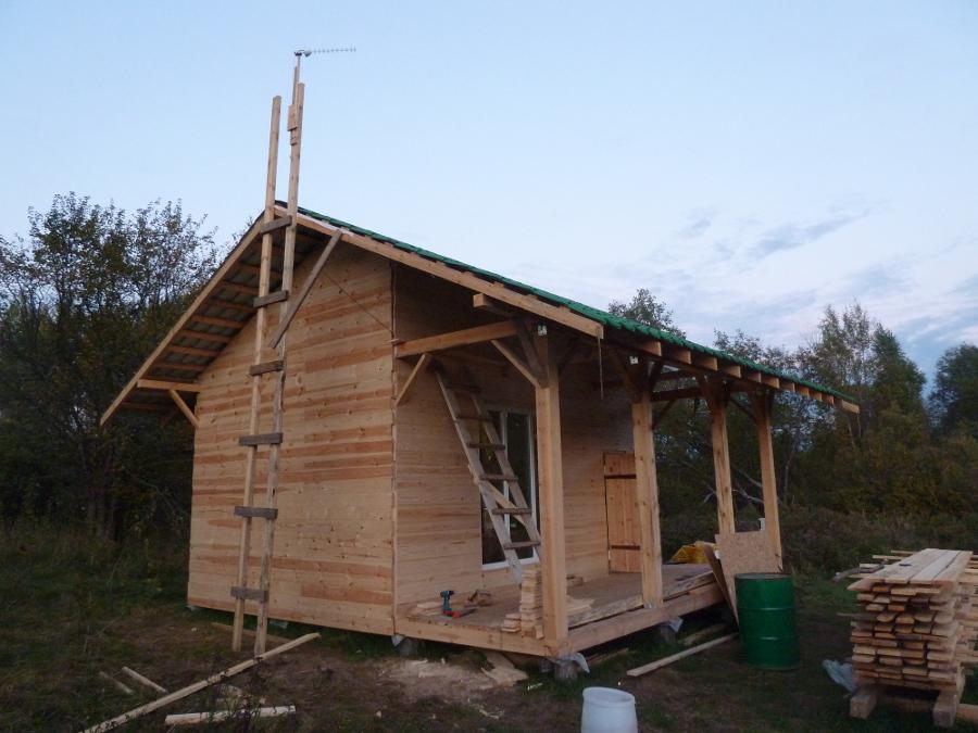 Почти готовый дом