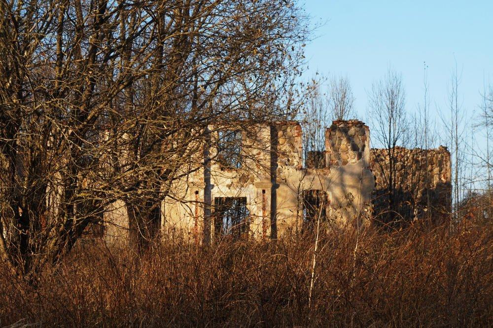 Останки усадьбы Корсаков